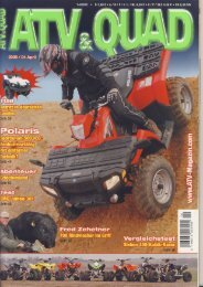 ATV und QUAD 04/2008 - KW-News Login