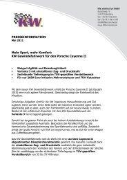 Porsche Cayenne II - KW-News Login