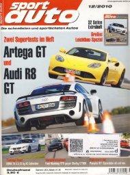 Sportauto Ausgabe 2010 - 10 - KW-News Login