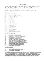 Sitzung vom 13.09.2011 - Amt Büsum