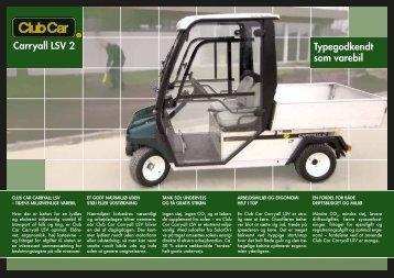 Carryall LSV 2 Typegodkendt som varebil - HCP