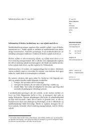 Information til skoler, institutioner m.v. om sejlads ... - Søfartsstyrelsen