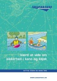 Værd at vide om sikkerhed i kano og kajak - Sundby Mors