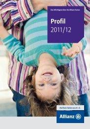 Profil 2011/12 - Allianz Suisse