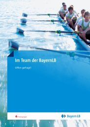 Im Team der BayernLB