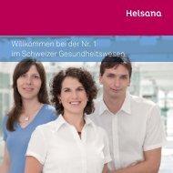 Willkommen bei der Nr. 1 im Schweizer Gesundheitswesen