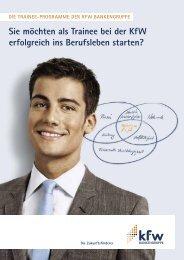 Die Trainee-Programme der KfW Bankengruppe - Staufenbiel Institut