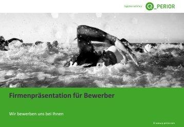 Firmenpräsentation für Bewerber - Q_PERIOR