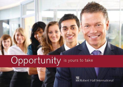 Robert Half Unternehmens-Präsentation