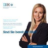 Sind Sie bereit für IBM?