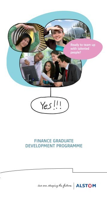 FINANCE GRADUATE DEVELOPMENT PROGRAMME
