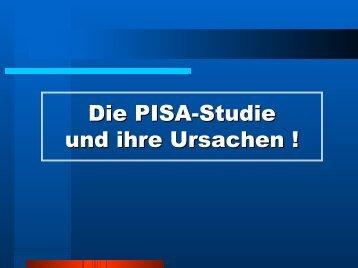Die PISA-Studie und ihre Ursachen ! - BBS Ahrweiler