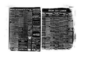 CITY LEDGER 1 *- sad Want Asa - On-Line Newspaper Archives of ...
