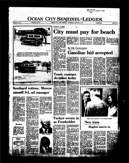 Jan 1977 On Line Newspaper Archives Of Ocean City