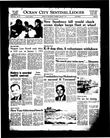Jan 1971 - On-Line Newspaper Archives of Ocean City
