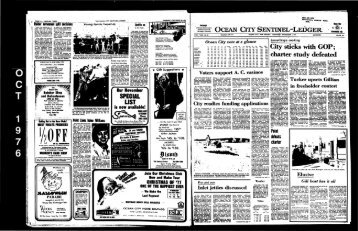 charter study defeated - On-Line Newspaper Archives of Ocean City