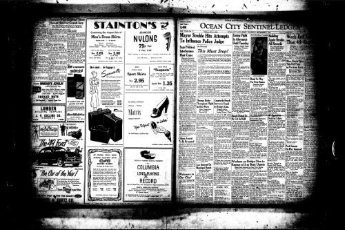 Sep 1948 On Line Newspaper Archives Of Ocean City