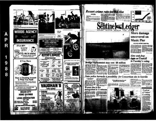 May 1988 Line Newspaper Archives of Ocean City