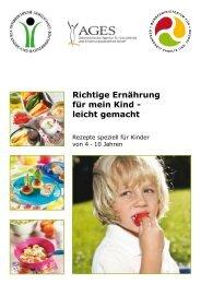Richtige Ernährung für mein Kind - leicht gemacht - Schule.at