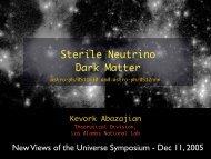 Sterile Neutrino Dark Matter - New Views of the Universe