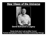 PDF format - New Views of the Universe - University of Chicago