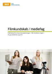 Filmkundskab / mediefag - Arbejdsmiljoweb.dk
