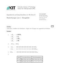 Musterlösungen zum 1. Übungsblatt - next-internet.com