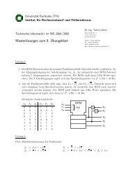 Musterlösungen zum 8.¨Ubungsblatt - next-internet.com
