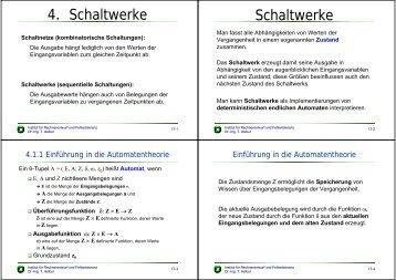 4. Schaltwerke Schaltwerke - next-internet.com