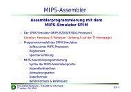 MIPS-Assembler - next-internet.com