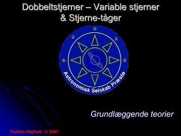 Dobbelt & variable stjerner