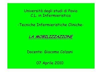 LA MOBILIZZAZIONE - Università degli studi di Pavia