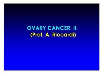 Prof. A. Riccardi