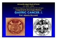 AA. Gastric C I 06. ppt - Università degli studi di Pavia