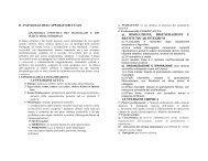 Patologia infettiva periorale - Facoltà di Medicina e Chirurgia