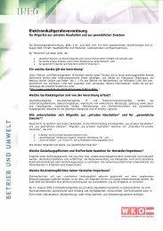 Elektronikaltgeräteverordnung - Steyr-Werner