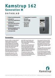 Datablad - Kamstrup