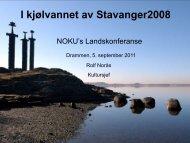 Rolf Norås - Norsk kulturforum