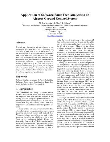 NASA Hazard Analysis and Fault Tree Analysis