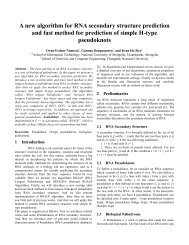 A new algorithm for RNA secondary structure prediction and fast ...