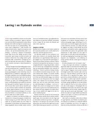 Læring i en flydende verden Af Martha Sztwiertnia & Christian ... - DPU
