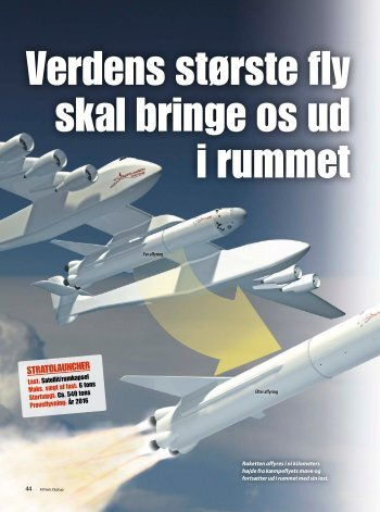 Stratolauncher - Illustreret Videnskab