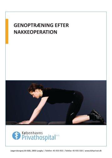 Genoptræning efter nakkeoperation .pdf