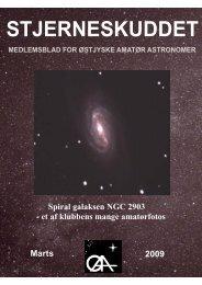 Redaktør - Østjyske Amatør Astronomer