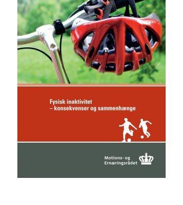 Fysisk inaktivitet - og Ernæringsrådet