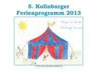 Ferienprogramm Kollnburg 2013