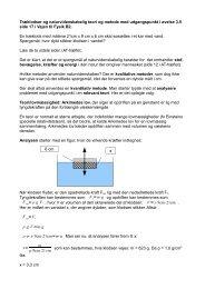 fysiks metode vha eksempel med Arkimedes lov