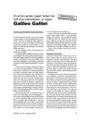 Galileo Galilei - Skabelse.dk