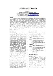 Cara Kerja TCP/IP - Blogs Universitas Udayana