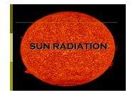 SUN RADIATION